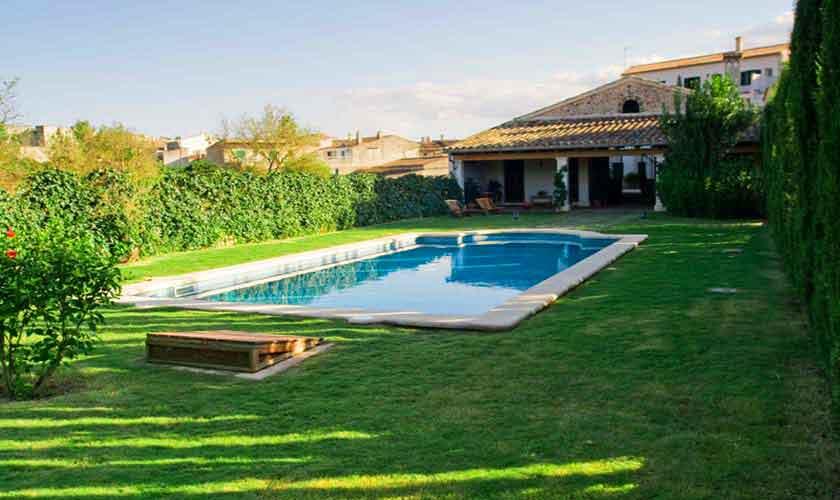 Pool und Villa Mallorca Norden PM 318