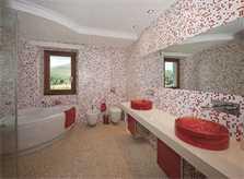 Badezimmer Exklusives Ferienhaus Mallorca 14 Personen PM 320