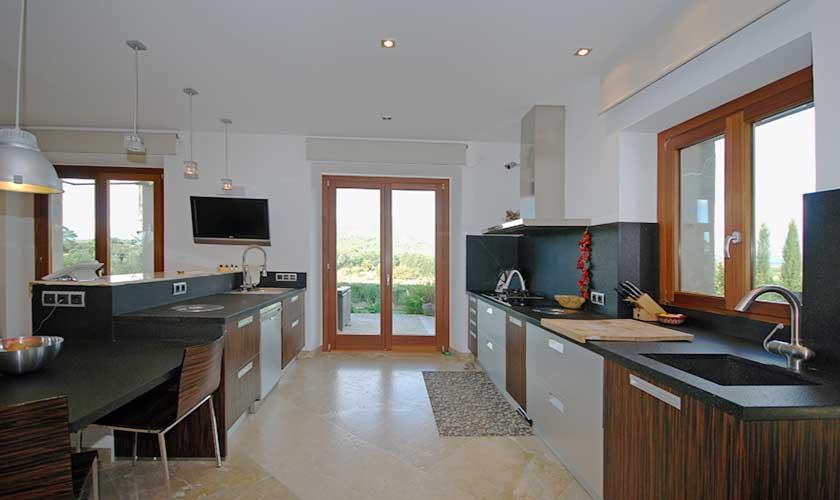 Küche Exklusive Finca Mallorca 14 Personen PM 320