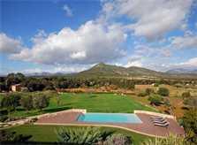 Poolblick Luxusfinca Mallorca 14 Personen PM 320