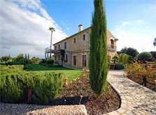 Blick auf die Ferienvilla Mallorca 14 Personen PM 320