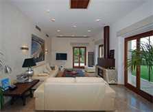 Wohnraum Luxusvilla Mallorca 14 Personen PM 320