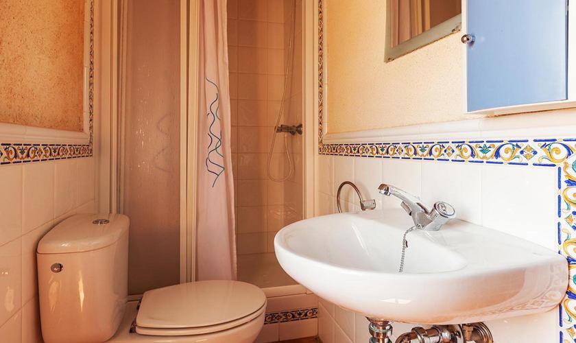 Badezimmer Ferienhaus Mallorca 8 Personen PM 3215