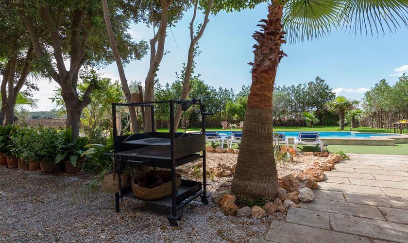 Barbecue Ferienhaus Mallorca 8 Personen PM 3215