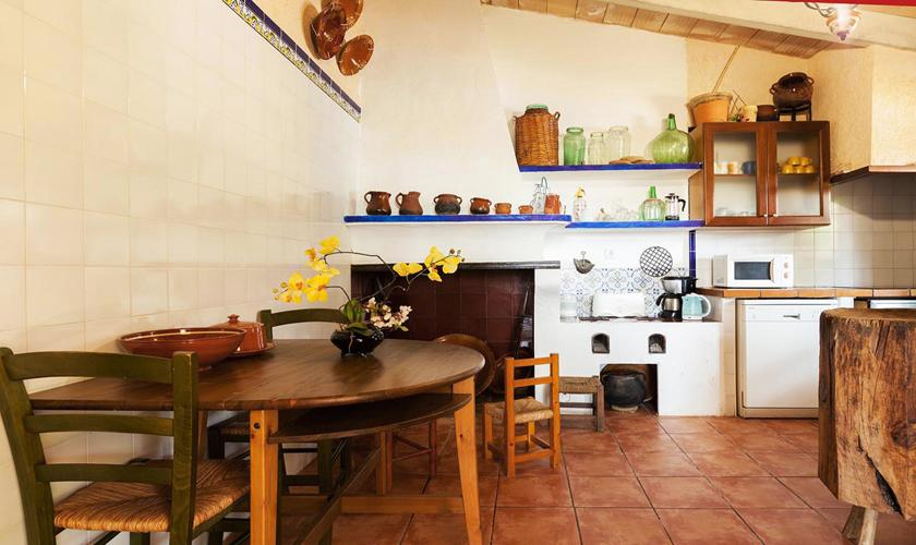 Küche Ferienfinca Mallorca 8 Personen PM 3215