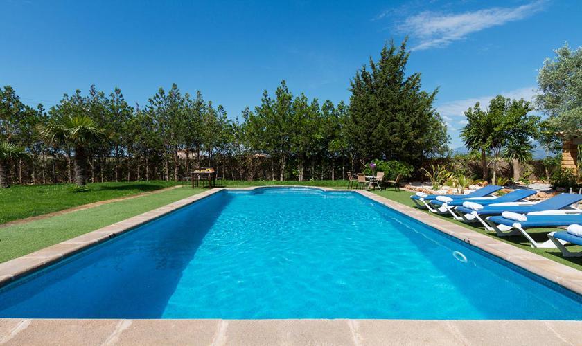 Poolblick Finca Mallorca 8 Personen PM 3215