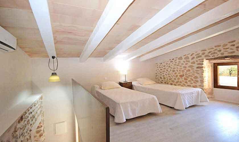 Schlafzimmer Casita Finca Mallorca Norden PM 3220