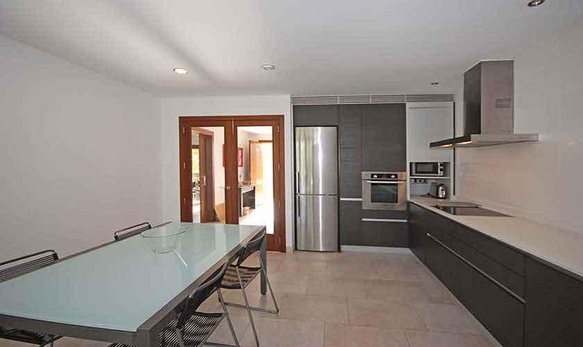 Küche Ferienfinca Mallorca Norden PM 3220