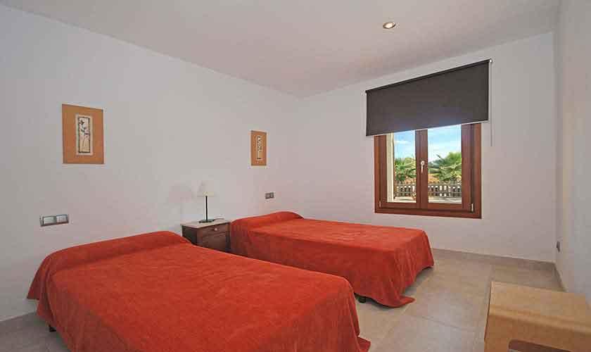 Schlafzimmer Finca Mallorca Norden PM 3220