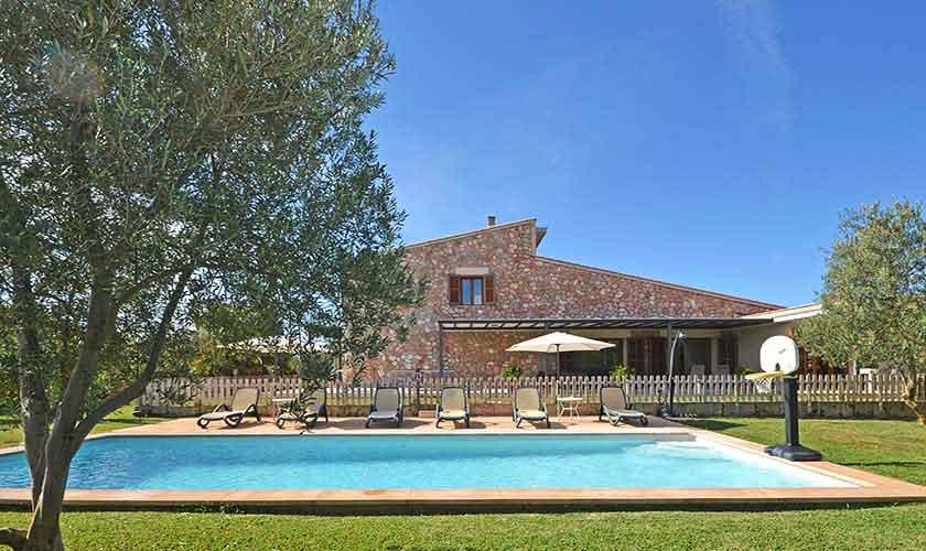 Pool und Finca Mallorca Norden PM 3220