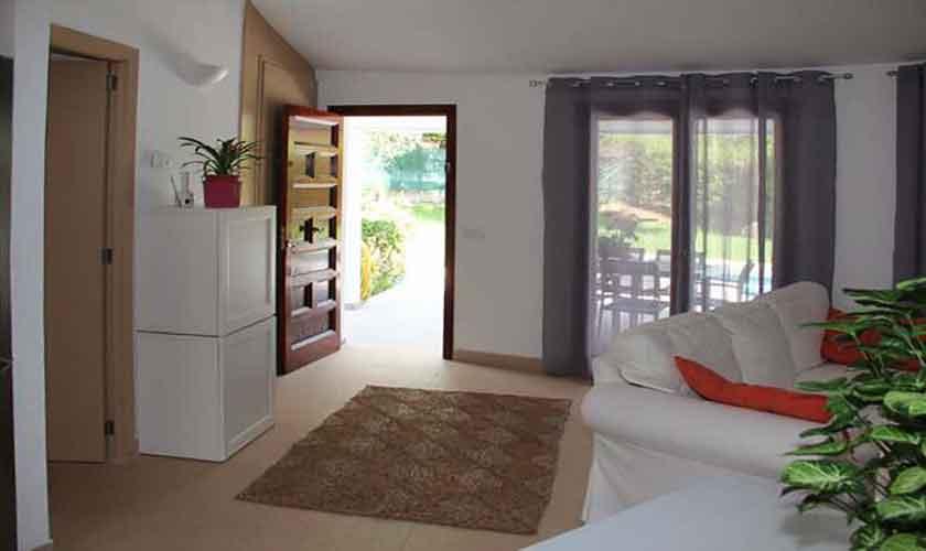 Wohnraum Ferienhaus Mallorca Norden PM 3221