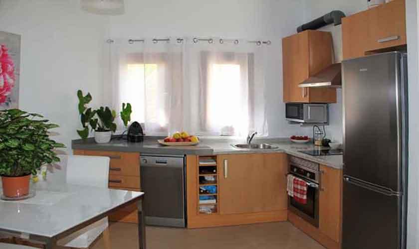 Küche Ferienhaus Mallorca Norden PM 3221