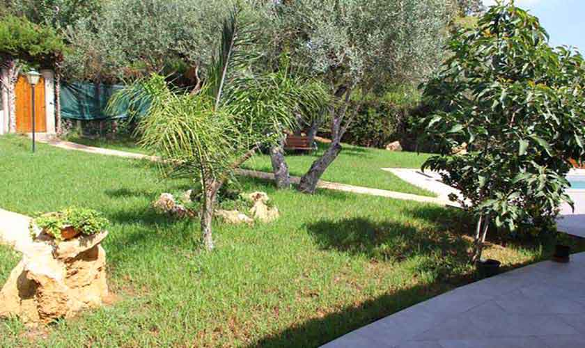 Garten Ferienhaus Mallorca Norden PM 3221