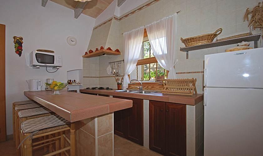 Küche Ferienhaus Mallorca PM 324
