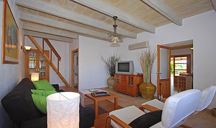 Wohnraum Ferienhaus Mallorca PM 324