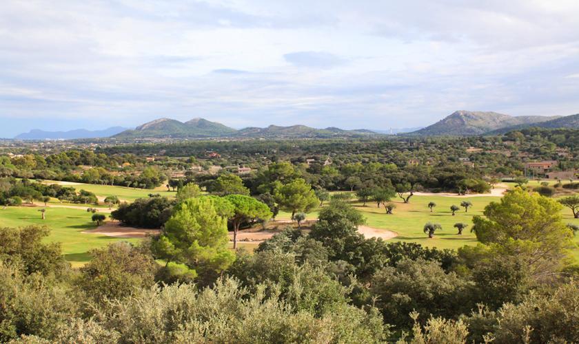 Blick von der Luxusvilla Mallorca für 12 Personen PM 3318