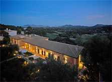 Blick auf die Luxusvilla Mallorca für 12 Personen PM 3318