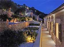 Terrasse Luxusvilla Mallorca für 12 Personen PM 3318