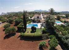 Blick auf die  Ferienfinca Mallorca PM 3325