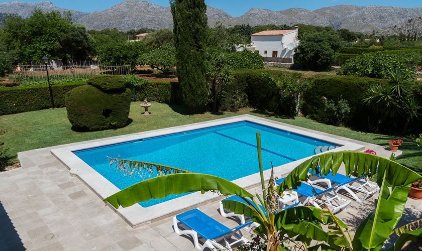 Poolblick Ferienfinca Mallorca PM 3325