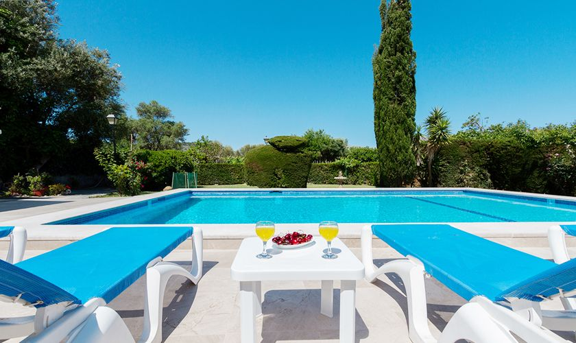 Pool der  Ferienfinca Mallorca PM 3325