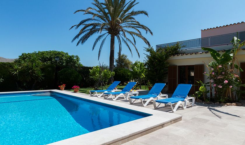 Pool und Finca Mallorca Pollensa PM 3325