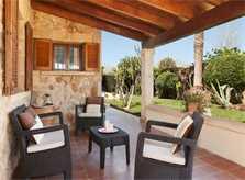 Terrasse  Ferienfinca Mallorca PM 3325