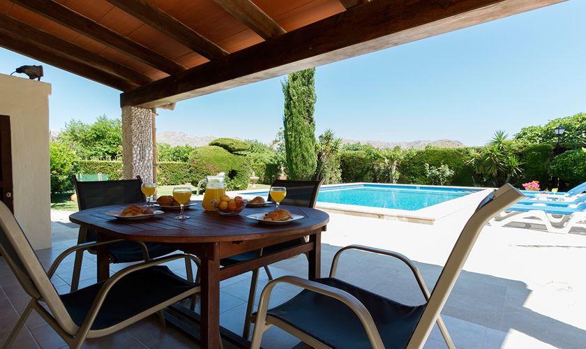 Terrasse Finca Mallorca für 6 Personen PM 3325