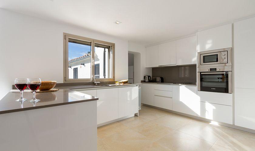 Küche Ferienhaus Mallorca Strandnähe PM 3327