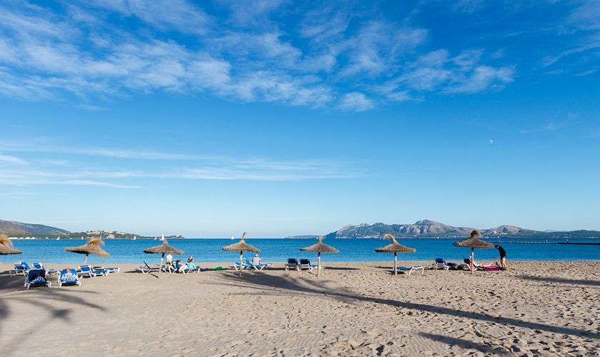 Strandblick Ferienhaus Mallorca Nordküste PM 3327