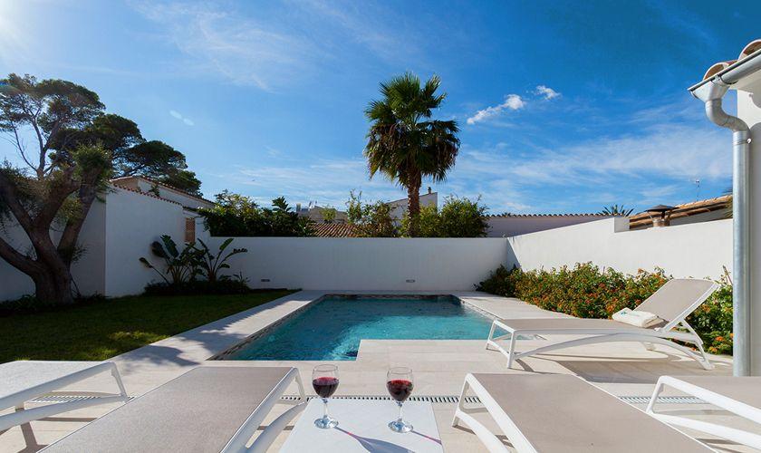 Pool Ferienhaus Mallorca Strandnähe PM 3327
