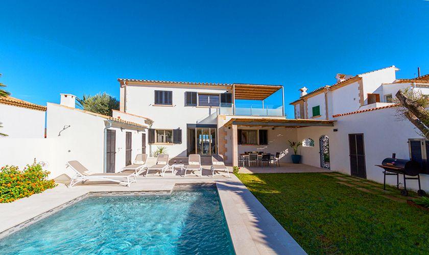 Pool und Ferienhaus Mallorca Strandnähe PM 3327