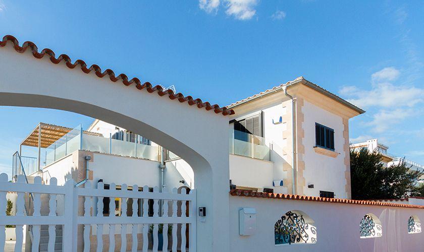 Blick auf das Ferienhaus Mallorca Nordküste PM 3327