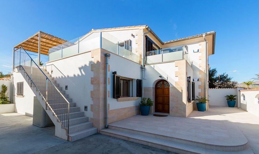 Blick auf das Ferienhaus Mallorca Strandnähe PM 3327