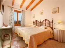 Schlafzimmer App.  Finca Mallorca Pollensa PM 3328