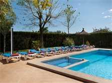 Poolblick Finca Mallorca Pollensa PM 3328