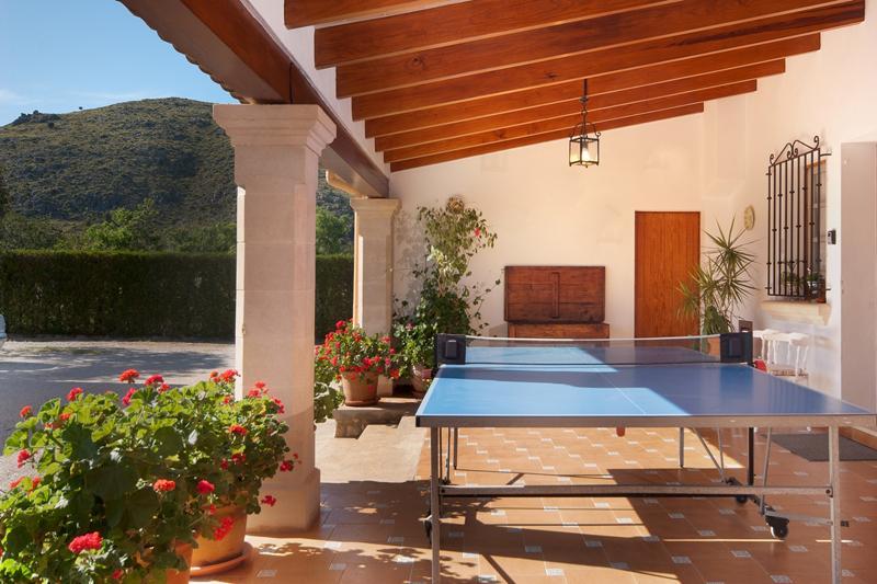 Tischtennis Finca Mallorca Pollensa PM 3328