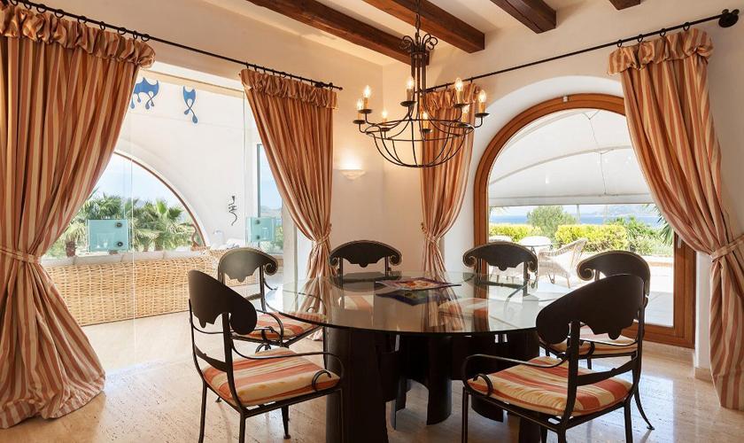 Wohnbereich Luxusfinca Mallorca PM 3329