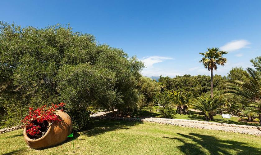 Garten Exklusive Finca  Mallorca PM 3329
