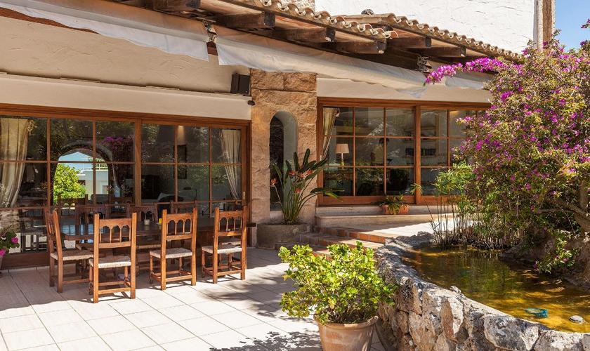 Terrasse Exklusive Finca Mallorca 12 Personen PM 3329