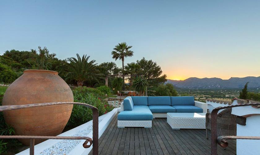 Abendstimmung Luxusvilla  Mallorca PM 3329