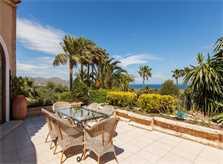 Terrasse Luxus-Finca Mallorca 12 Personen PM 3329
