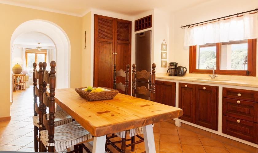 Küche Ferienfinca Mallorca 10 Personen PM 3331
