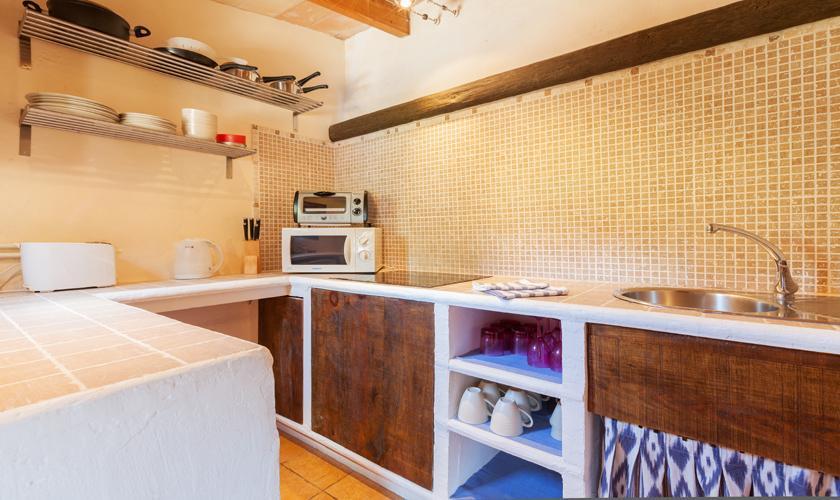 Kleine Küche Finca Mallorca 10 Personen PM 3331