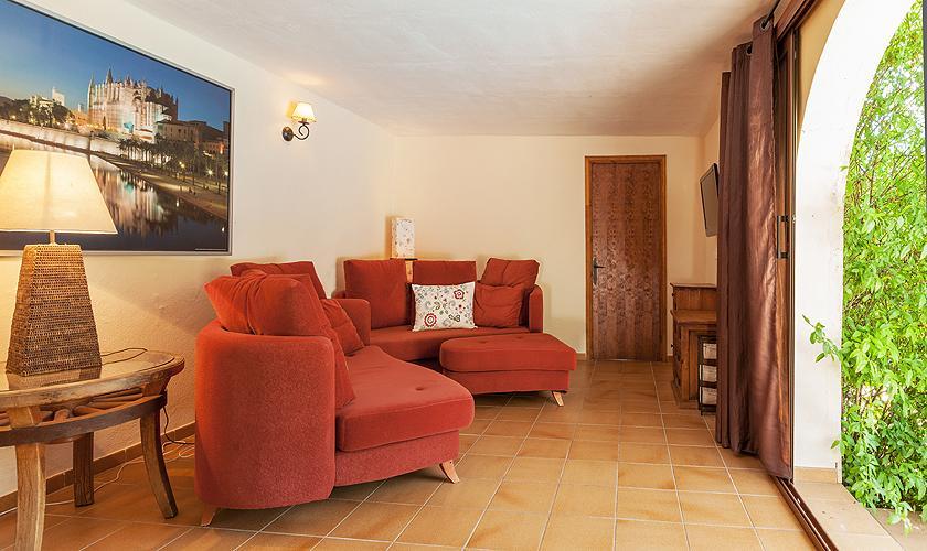 Wohnbereich Finca Mallorca 10 Personen PM 3331