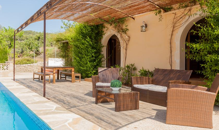 Pool und Finca Mallorca Pollenca 10 Personen PM 3331