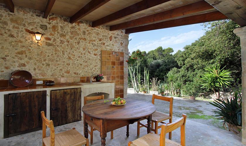 Terrasse Finca Mallorca Pollensa PM 3334