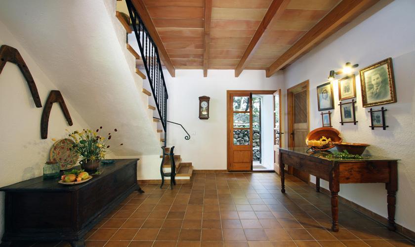Eingangsbereich Finca Mallorca Pollensa PM 3334