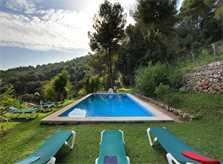 Poolblick Finca Mallorca Pollensa PM 3334