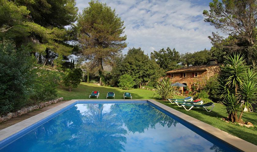 Pool und Finca Mallorca Pollensa PM 3334